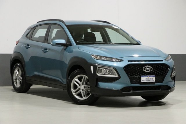 Used Hyundai Kona OS Active (FWD), 2018 Hyundai Kona OS Active (FWD) Green 6 Speed Automatic Wagon