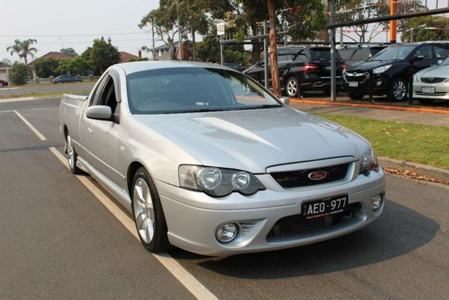 Used Ford Falcon BF MkII XR6T, 2006 Ford Falcon BF MkII XR6T Silver 6 Speed Auto Seq Sportshift Utility