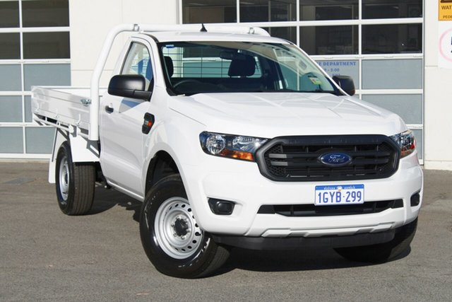 Demo Ford Ranger  XL, 2019 Ford Ranger PX MKIII 2019.0 XL Arctic White 6 Speed Sports Automatic Cab Chassis