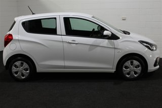 2016 Holden Spark MP MY16 LS Summit White 1 Speed Constant Variable Hatchback.