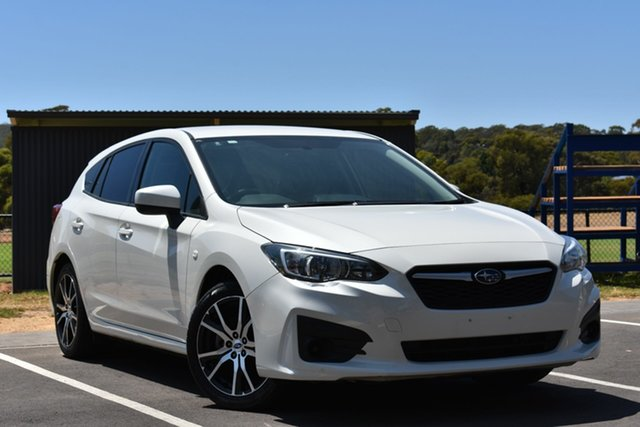 Used Subaru Impreza G5 MY17 2.0i CVT AWD, 2017 Subaru Impreza G5 MY17 2.0i CVT AWD White 7 Speed Constant Variable Hatchback