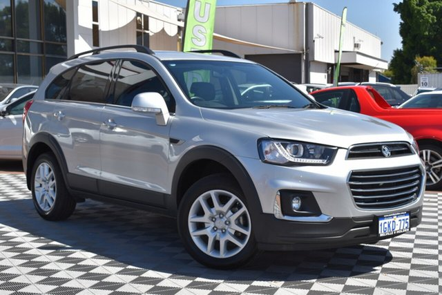 Used Holden Captiva CG MY17 Active 2WD, 2017 Holden Captiva CG MY17 Active 2WD Silver 6 Speed Sports Automatic Wagon
