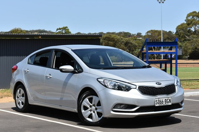 Used Kia Cerato YD MY15 S, 2015 Kia Cerato YD MY15 S Silver 6 Speed Sports Automatic Sedan