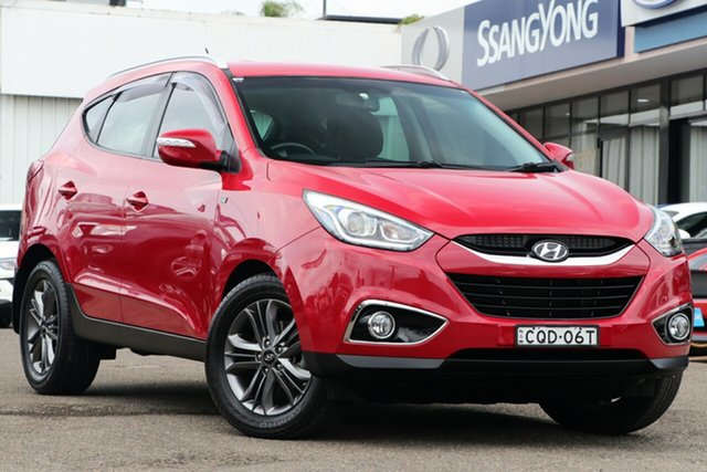 Used Hyundai ix35 LM2 SE AWD, 2013 Hyundai ix35 LM2 SE AWD Red 6 Speed Sports Automatic Wagon