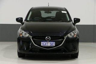 2015 Mazda 2 DJ Maxx Black 6 Speed Automatic Hatchback.
