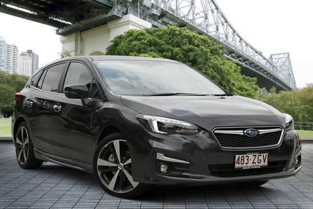 Demo Subaru Impreza G5 MY19 2.0i-S CVT AWD, 2019 Subaru Impreza G5 MY19 2.0i-S CVT AWD Dark Grey 7 Speed Constant Variable Hatchback