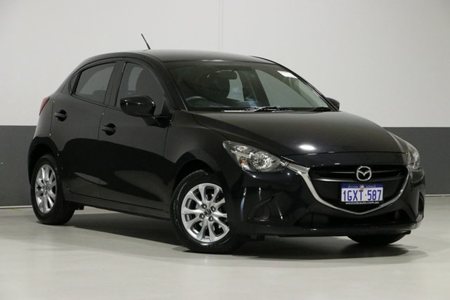 Used Mazda 2 DJ Maxx, 2015 Mazda 2 DJ Maxx Black 6 Speed Automatic Hatchback
