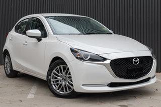 2019 Mazda 2 MAZDA2 Q 6AUTO HATCH EVOLVE Snowflake White Pearl Hatchback.