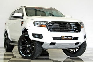 2017 Ford Everest UA MY18 Trend (RWD) White 6 Speed Automatic Wagon.