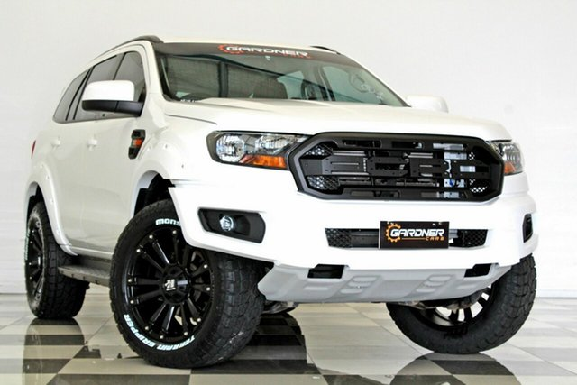 Used Ford Everest UA MY18 Trend (RWD), 2017 Ford Everest UA MY18 Trend (RWD) White 6 Speed Automatic Wagon