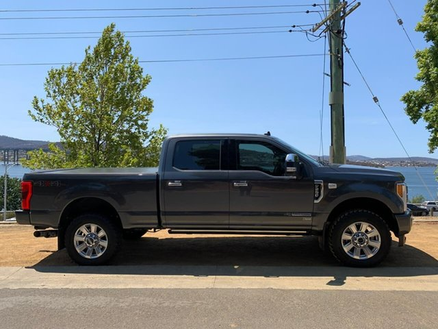 Used Ford F250  Platinum, 2019 Ford F250 (No Series) Platinum Grey 6 Speed Automatic Utility
