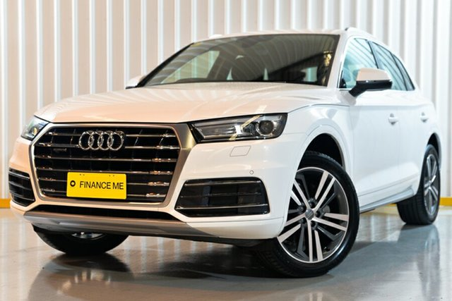 Used Audi Q5 FY MY18 TDI S Tronic Quattro Ultra design, 2018 Audi Q5 FY MY18 TDI S Tronic Quattro Ultra design White 7 Speed Sports Automatic Dual Clutch