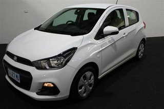 2016 Holden Spark MP MY16 LS Summit White 1 Speed Constant Variable Hatchback