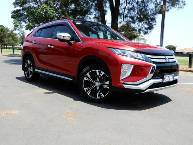 Used Mitsubishi Eclipse Cross YA MY18 Exceed AWD, 2017 Mitsubishi Eclipse Cross YA MY18 Exceed AWD Diamond Red 8 Speed Constant Variable Wagon