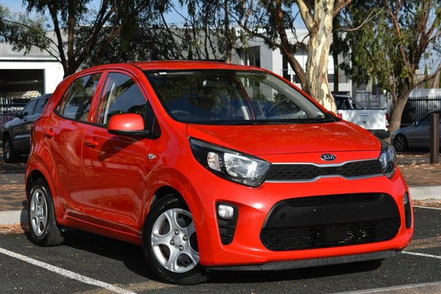 Used Kia Picanto JA MY18 S, 2017 Kia Picanto JA MY18 S Red 4 Speed Automatic Hatchback