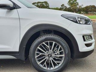 2019 Hyundai Tucson TL3 MY20 Elite D-CT AWD Pure White 7 Speed Sports Automatic Dual Clutch Wagon