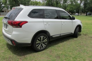 2019 Mitsubishi Outlander ZL MY19 ES 2WD White 6 Speed Constant Variable Wagon.