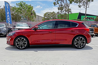 2018 Ford Focus SA 2019MY Titanium Red 8 Speed Automatic Hatchback