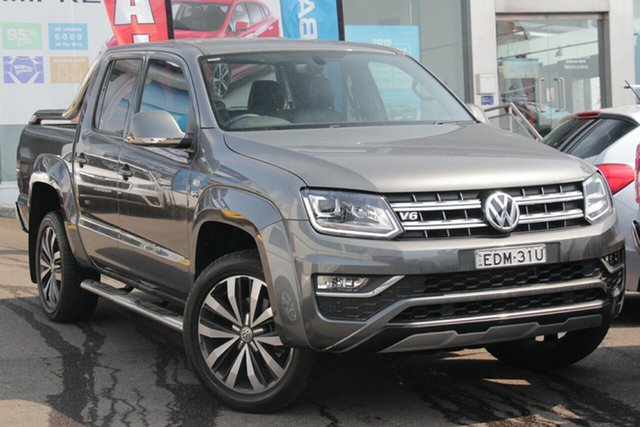 Used Volkswagen Amarok 2H MY18 TDI580 4MOTION Perm Ultimate, 2018 Volkswagen Amarok 2H MY18 TDI580 4MOTION Perm Ultimate Grey 8 Speed Automatic Utility