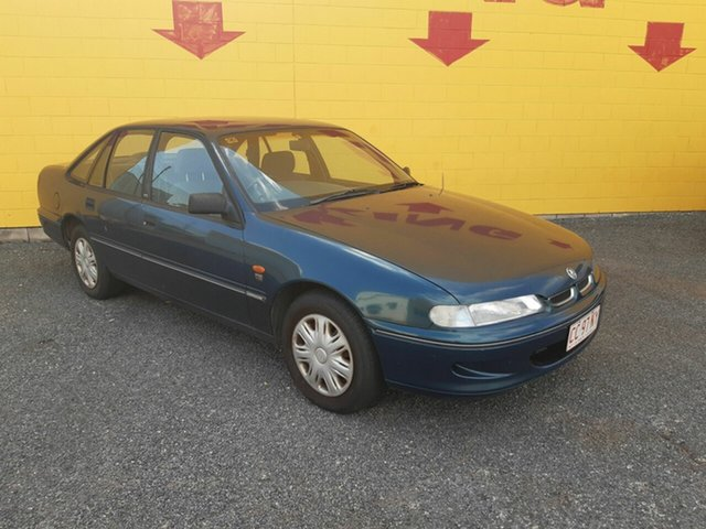 Used Holden Commodore VS II Executive, 1997 Holden Commodore VS II Executive Green 4 Speed Automatic Sedan