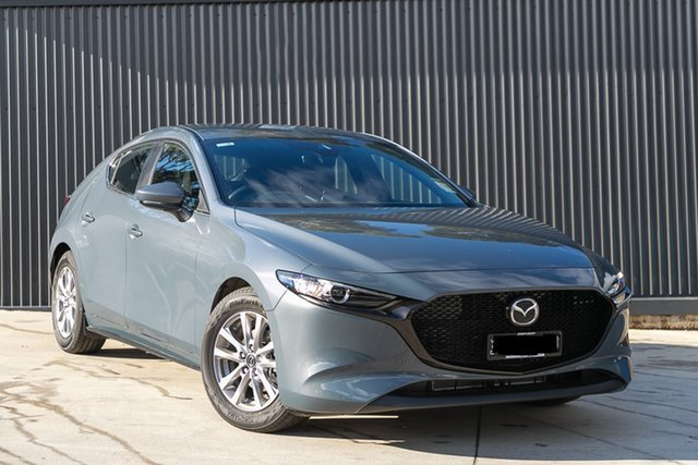 Demo Mazda 3 BP2H7A G20 SKYACTIV-Drive Pure, 2019 Mazda 3 BP2H7A G20 SKYACTIV-Drive Pure Polymetal Grey 6 Speed Sports Automatic Hatchback
