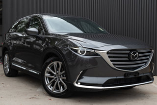 2019 Mazda CX-9 TC Azami SKYACTIV-Drive i-ACTIV AWD LE Machine Grey 6 Speed Sports Automatic Wagon.