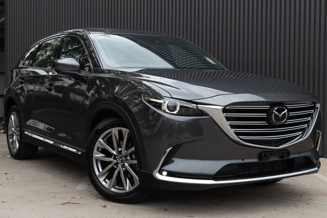 New Mazda CX-9 TC Azami SKYACTIV-Drive i-ACTIV AWD LE, 2019 Mazda CX-9 TC Azami SKYACTIV-Drive i-ACTIV AWD LE Machine Grey 6 Speed Sports Automatic Wagon