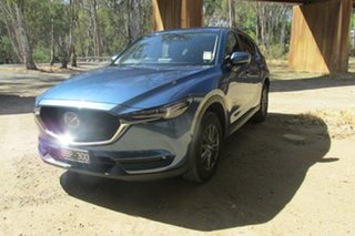 Mazda CX-5 MAXX SPORT Blue 6 Speed Automatic Wagon.