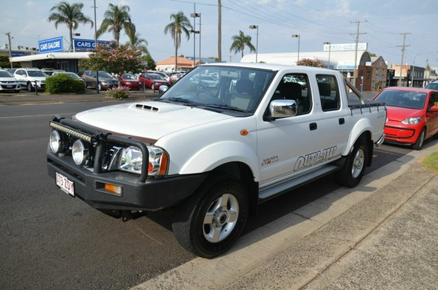 Used Nissan Navara D22 Series 5 ST-R Special Edition (4x4), 2012 Nissan Navara D22 Series 5 ST-R Special Edition (4x4) White 5 Speed Manual Dual Cab Pick-up