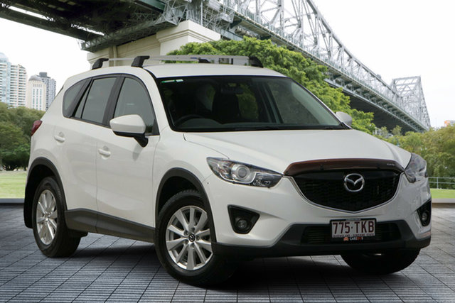 Used Mazda CX-5 KE1021 MY13 Maxx SKYACTIV-Drive AWD Sport, 2013 Mazda CX-5 KE1021 MY13 Maxx SKYACTIV-Drive AWD Sport White 6 Speed Sports Automatic Wagon