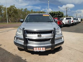 2016 Holden Colorado RG MY16 LTZ Crew Cab Silver 6 Speed Sports Automatic Utility.