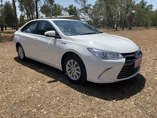 Used Toyota Camry AVV50R MY16 Altise Hybrid, 2017 Toyota Camry AVV50R MY16 Altise Hybrid Diamond White Continuous Variable Sedan