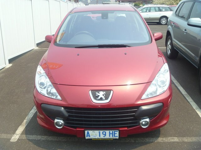 Used Peugeot 307 T6 XSE, 2006 Peugeot 307 T6 XSE Red 4 Speed Sports Automatic Hatchback