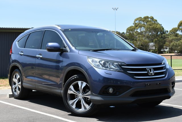 Used Honda CR-V RM VTi-L 4WD, 2013 Honda CR-V RM VTi-L 4WD Blue 5 Speed Automatic Wagon