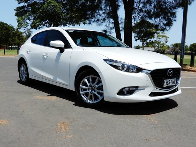 Used Mazda 3 BN5478 Touring SKYACTIV-Drive, 2016 Mazda 3 BN5478 Touring SKYACTIV-Drive White 6 Speed Sports Automatic Hatchback