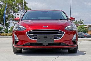 2018 Ford Focus SA 2019MY Titanium Red 8 Speed Automatic Hatchback.
