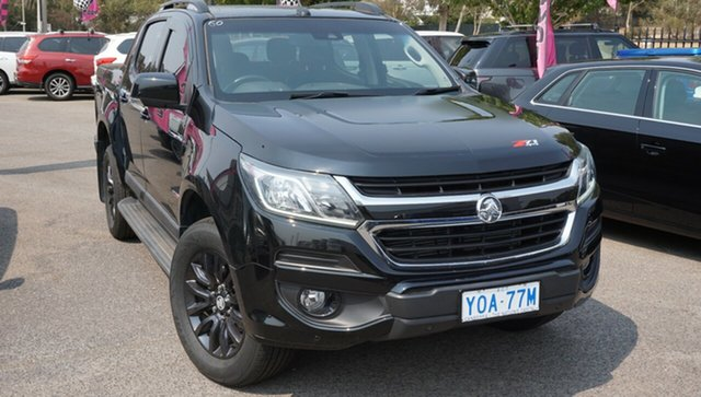 Used Holden Colorado RG MY17 Z71 Pickup Crew Cab, 2016 Holden Colorado RG MY17 Z71 Pickup Crew Cab Black 6 Speed Sports Automatic Utility