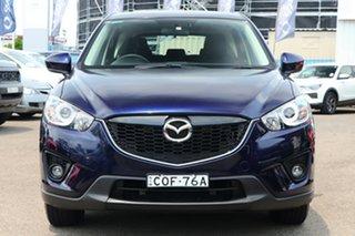 2013 Mazda CX-5 KE1031 MY13 Maxx SKYACTIV-Drive AWD Sport Blue 6 Speed Sports Automatic Wagon