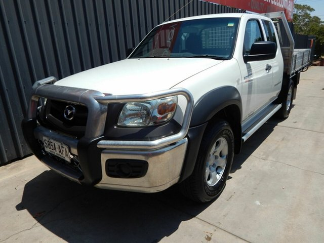 Used Mazda BT-50 UNY0E4 DX+ Freestyle, 2009 Mazda BT-50 UNY0E4 DX+ Freestyle White 5 Speed Manual Cab Chassis