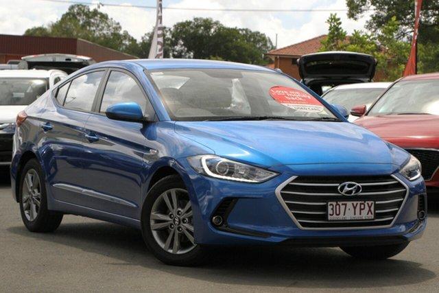 Used Hyundai Elantra AD MY18 Active, 2018 Hyundai Elantra AD MY18 Active Blue 6 Speed Sports Automatic Sedan