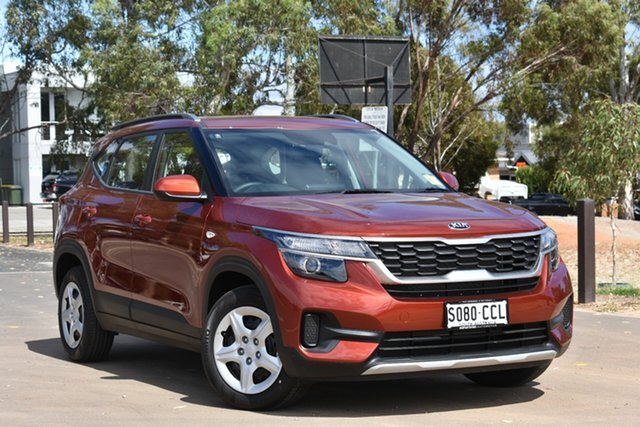 Demo Kia Seltos SP2 MY20 S 2WD, 2019 Kia Seltos SP2 MY20 S 2WD Mars Orange Constant Variable Wagon