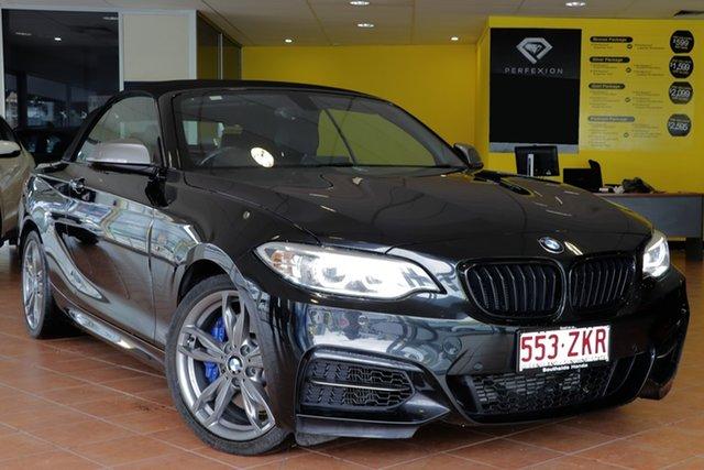 Used BMW 2 Series F23 M235I, 2015 BMW 2 Series F23 M235I Black 8 Speed Sports Automatic Convertible