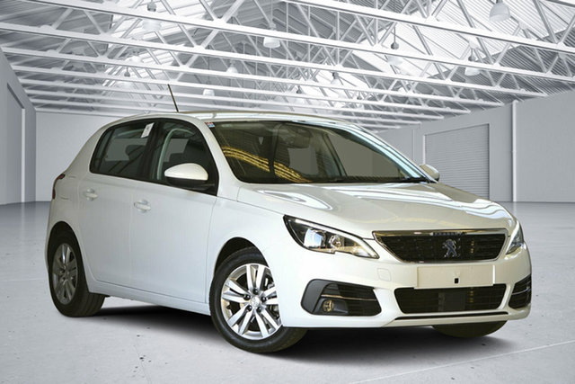 Used Peugeot 308 T9 MY18 Update Active, 2018 Peugeot 308 T9 MY18 Update Active White 6 Speed Automatic Hatchback