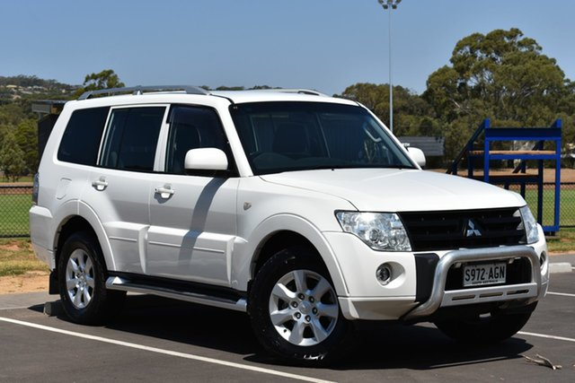 Used Mitsubishi Pajero NT MY10 Platinum, 2010 Mitsubishi Pajero NT MY10 Platinum White 5 Speed Sports Automatic Wagon