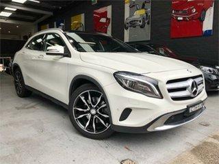 2015 Mercedes-Benz GLA-Class X156 GLA250 White Sports Automatic Dual Clutch Wagon.