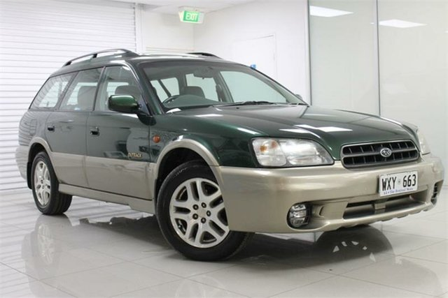 Used Subaru Outback B2A Limited, 1998 Subaru Outback B2A Limited Green & Silver 4 Speed Automatic Wagon