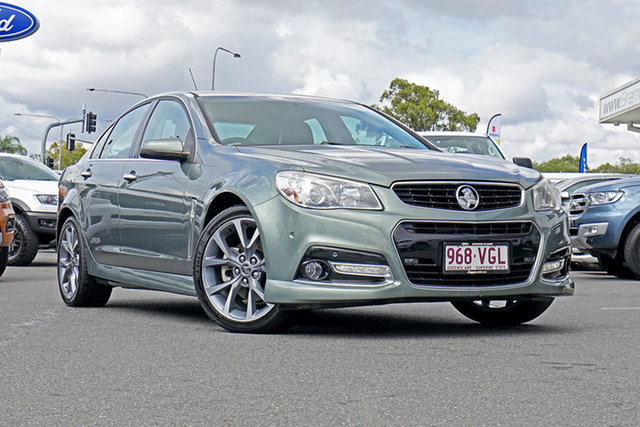 Used Holden Commodore VF MY14 SS V, 2014 Holden Commodore VF MY14 SS V Grey 6 Speed Sports Automatic Sedan