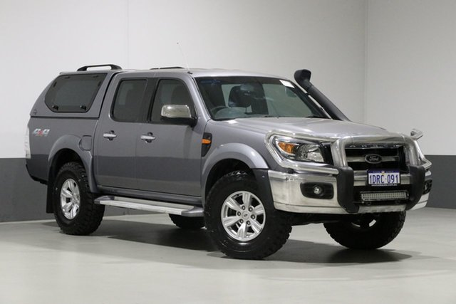 Used Ford Ranger PK XLT (4x4), 2011 Ford Ranger PK XLT (4x4) Grey 5 Speed Manual Dual Cab Pick-up