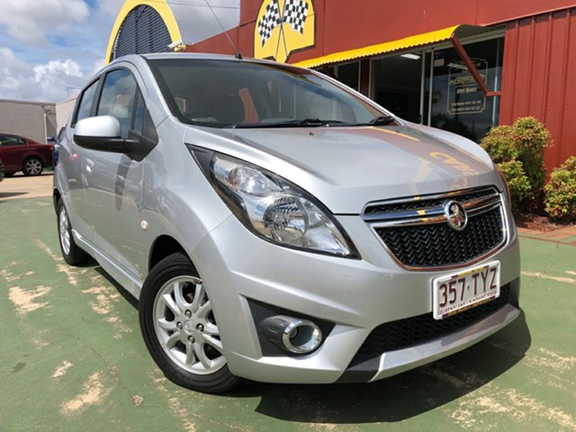 Used Holden Barina Spark MJ MY14 CD, 2013 Holden Barina Spark MJ MY14 CD 5 Speed Manual Hatchback