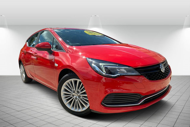 Used Holden Astra BK MY17 R, 2016 Holden Astra BK MY17 R Red 6 Speed Sports Automatic Hatchback